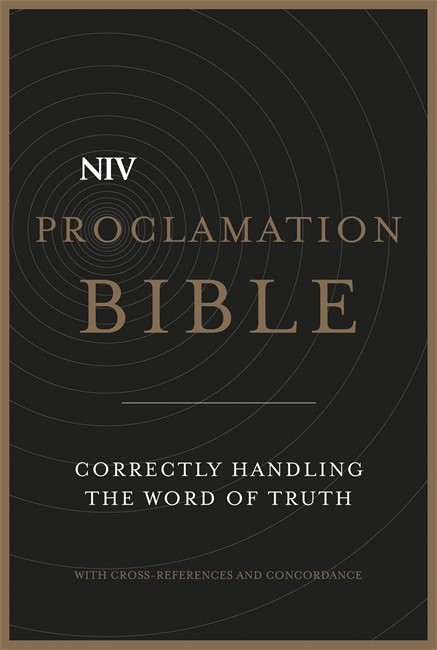 NIV Proclamation Bible (Leather Binding)