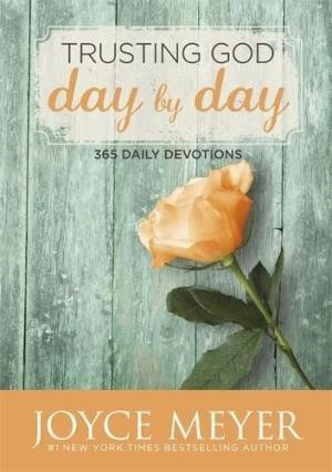 Trusting God Day By Day (Hard Cover)