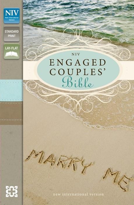 NIV Engaged Couples' Bible (Flexiback)