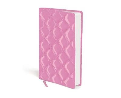 NIV Compact Strawberry Cream Quilted Duo-Tone Bible (Flexiback)