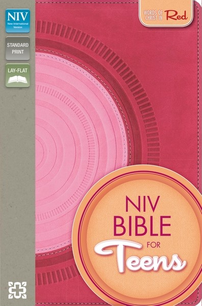 NIV Bible For Teens Hot Pink/Pink Duo Tone (Flexiback)