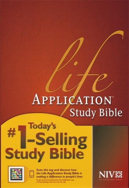 NIV Life Application Study Bible, Burgundy (Hard Cover)