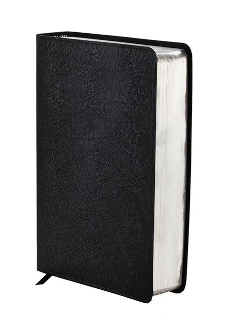 NIV Study Bible Black Bonded Leather (Flexiback)