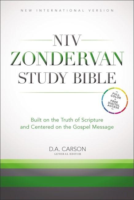 NIV Study Bible Hardback (Hard Cover)