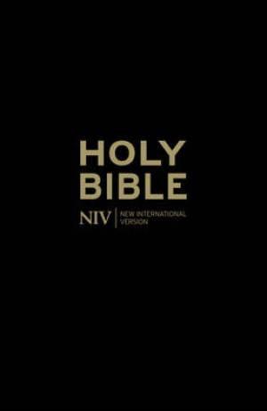 NIV Popular Cross-Reference Black Leather Bible (Hard Cover)