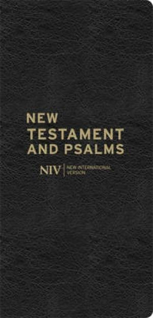 NIV Diary Bonded Leather New Testament And Psalms (Hard Cover)
