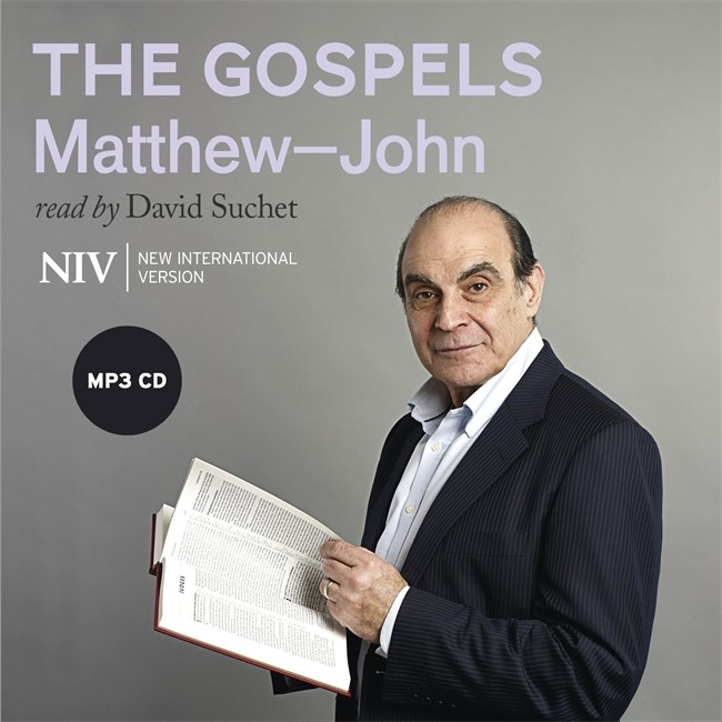NIV Bible: The Gospels (Read By David Suchet) (CD-Audio)