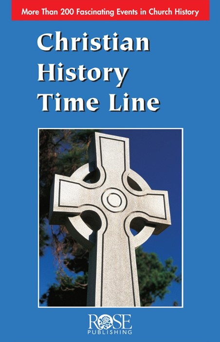 Christian History Time Line (Pamphlet)