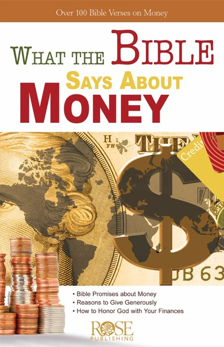 What The Bible Says About Money (Pamphlet)