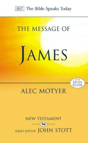 The BST Message of James (Paperback)