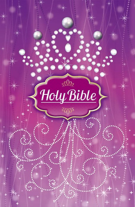Purple Pearl Princess Bible (Hard Cover)