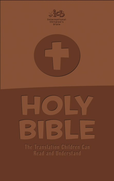 International Children's Bible - Brown Leathersoft Cover (Paperback)