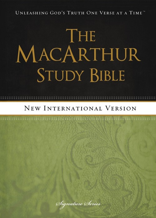 The NIV Macarthur Study Bible (Hard Cover)