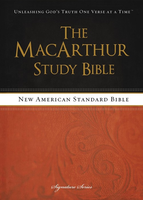 The NASB Macarthur Study Bible (Hard Cover)