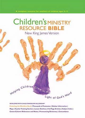 Children's Ministry Resource Bible (Hard Cover)