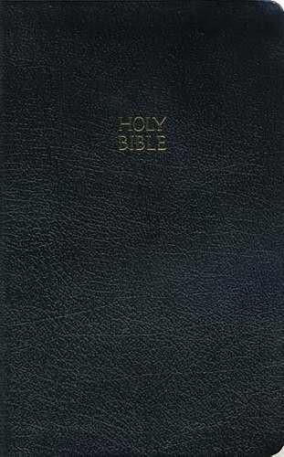 Kjv Ultraslim Bible, Bonded Leather Black Indexed (Hard Cover)
