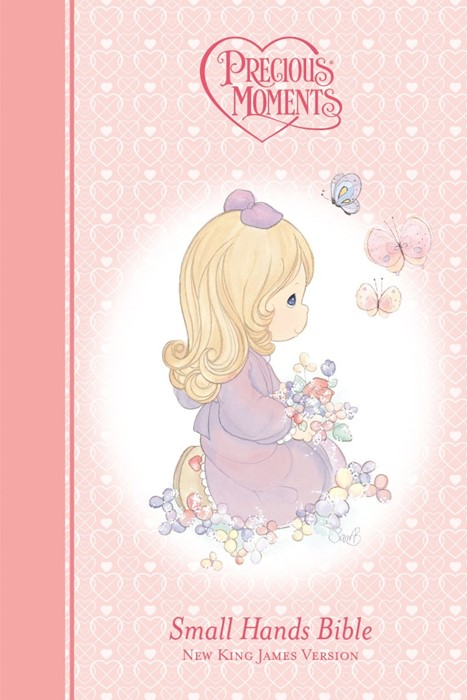 NKJV Precious Moments - Pink (Hard Cover)