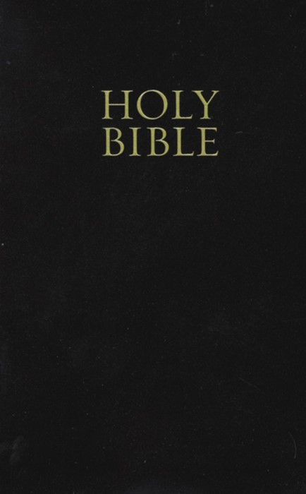 KJV Pew Bible Black (Hard Cover)