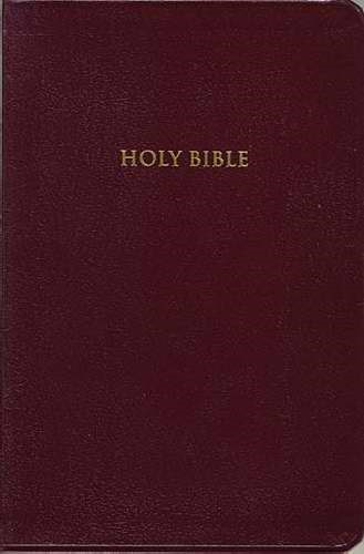 KJV Classic Personal Size Gp End-Of-Verse Reference Bible (Bonded Leather)