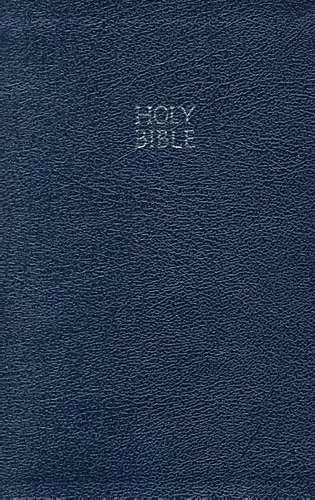 KJV Ultraslim Reference Bible (Bonded Leather)