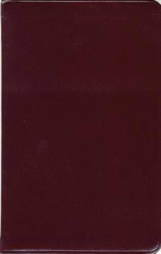 Kjv Ultraslim Bible, Burgundy Indexed (Hard Cover)