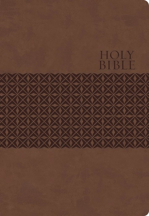 KJV Classic Personal Size Giant Print End-Of-Verse Reference (Imitation Leather)