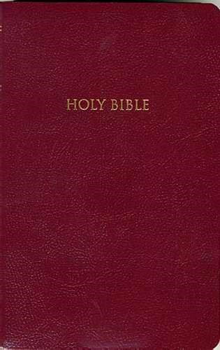 Kjv Gift And Award Bible Red (Paperback)