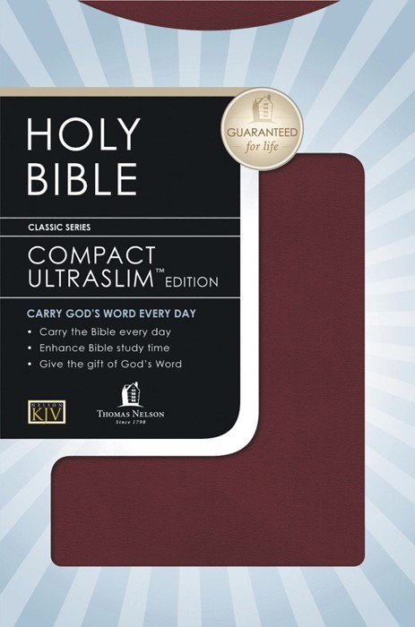 KJV Compact Ultraslim Bible (Paperback)