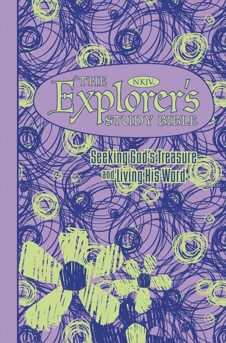 The NKJV Explorer's Study Bible - Purple (Paperback)