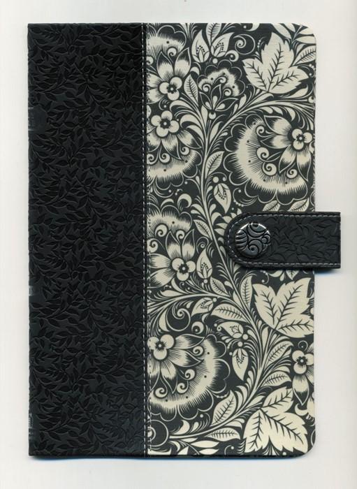 Kjv Designer Series Ultraslim Bible black white floral (Paperback)