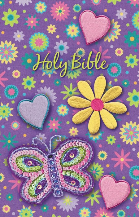 Sequin Bible - Purple (Hard Cover)