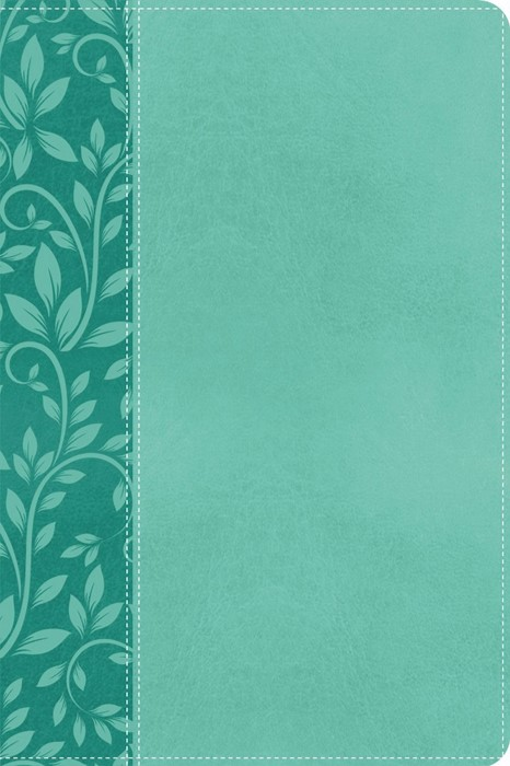 KJV Gift Bible Leathersoft, Turquoise (Paperback)