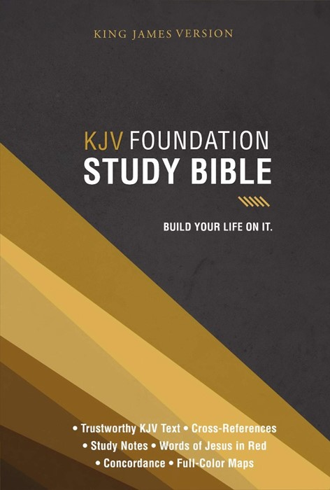KJV Foundation Study Bible (Hard Cover)