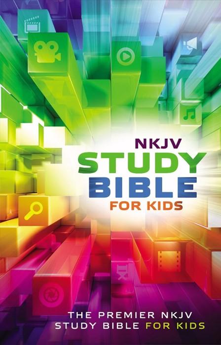 NKJV Study Bible For Kids (Hard Cover)