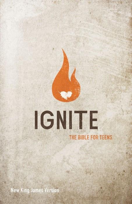 NKJV Ignite Bible for Teens (Hard Cover)