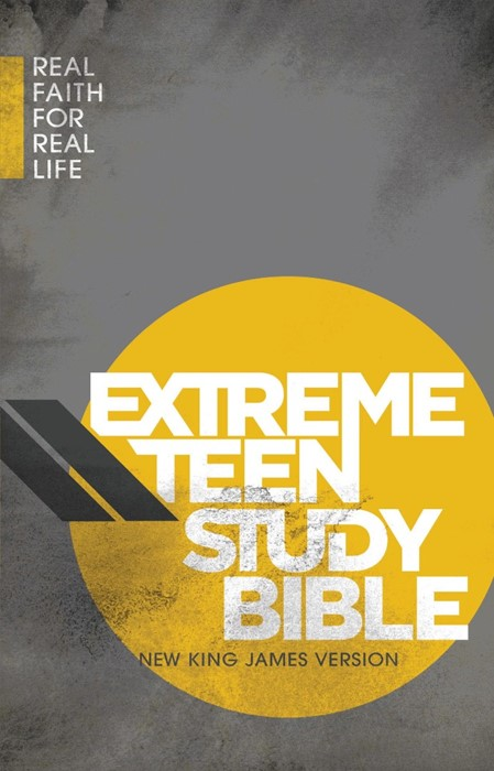 NKJV Extreme Teen Study Bible (Hard Cover)