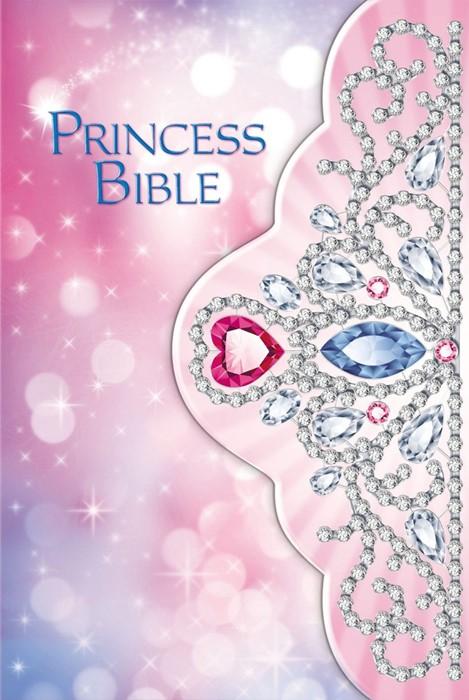 Princess Bible - Tiara (Hard Cover)