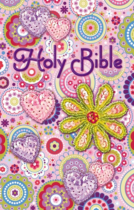 ICB Shiny Sequin Bible - Pink (Paperback)
