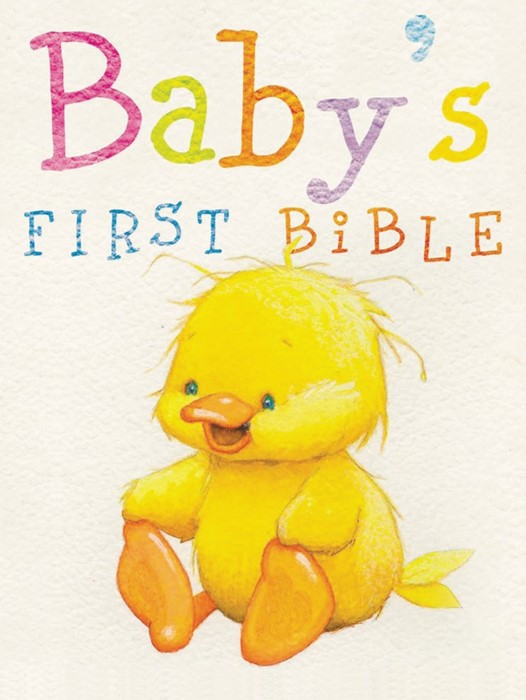 NKJV Baby's First Bible (Hard Cover)