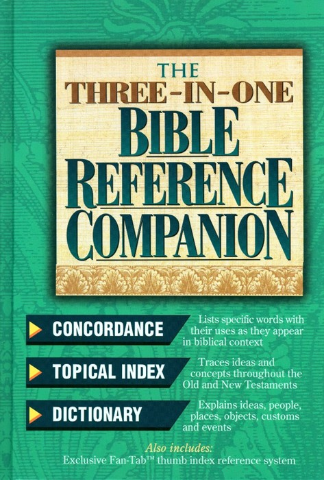 The Three-In-One Bible Reference Companion (Hard Cover)