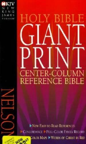 NKJV Gp Center-Column Reference Bible (Paperback)