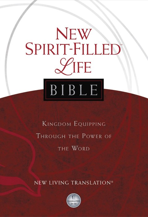 NLT New Spirit-Filled Life Bible (Hard Cover)