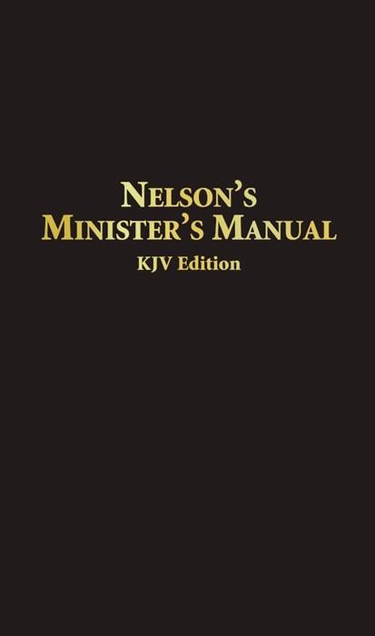 Nelson'S Minister'S Manual Kjv (Bonded Leather)