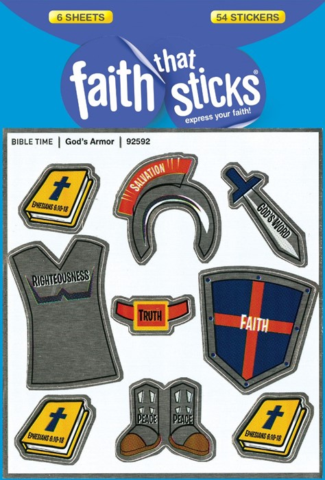 God's Armor (Stickers)
