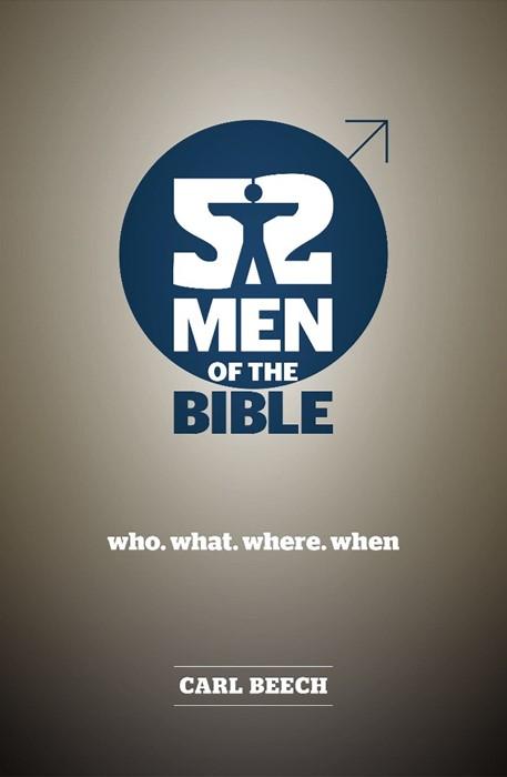 52 Men Of The Bible (Paperback)