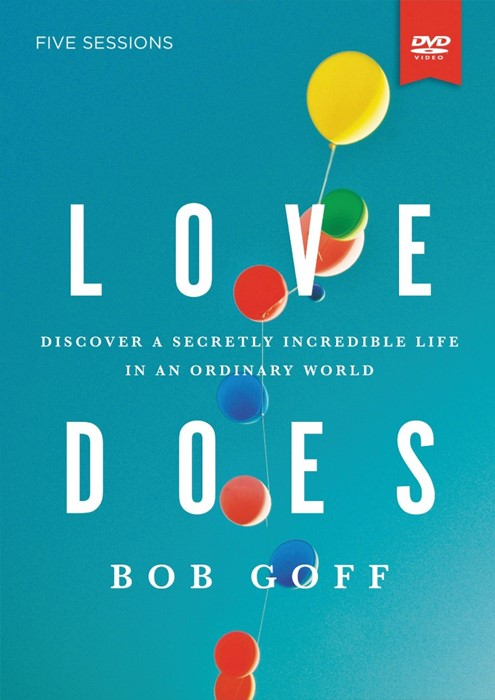 Love Does Study Guide With DVD (Paperback w/DVD)