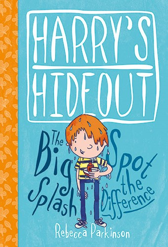 Harry's Hideout - Spot The Difference And The Big Splash (Hard Cover)