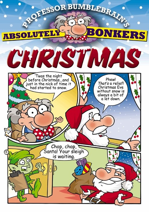 Professor Bumblebrain'S Absolutely Bonkers Christmas (Paperback)