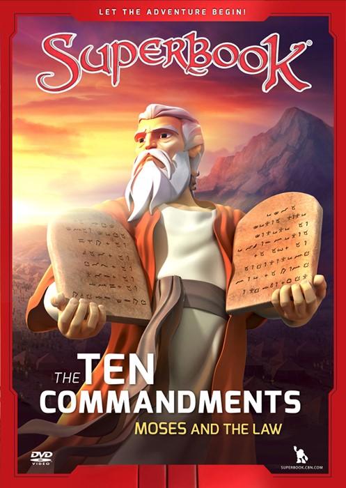 The Ten Commandments DVD (DVD)