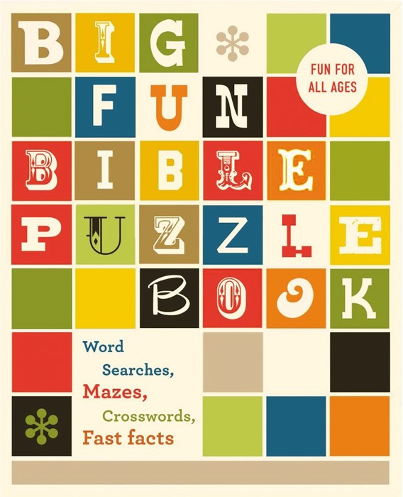 Big Fun Bible Puzzle Book (Paperback)